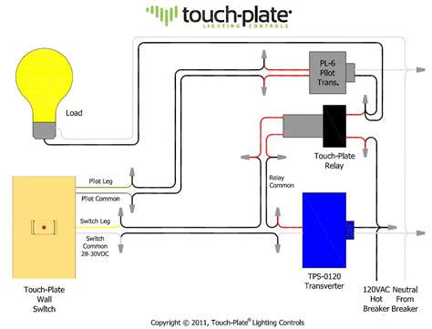touch plate switch wiring diagram wiring diagrams wiring