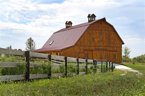 gambrel barn homes barn wood home great plains gambrel barn home project bbu207 photo gallery