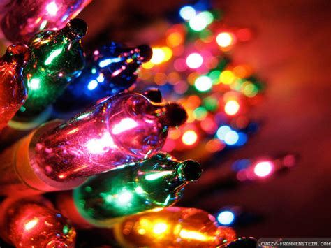 colorful christmas lights free wallpaper i hd images