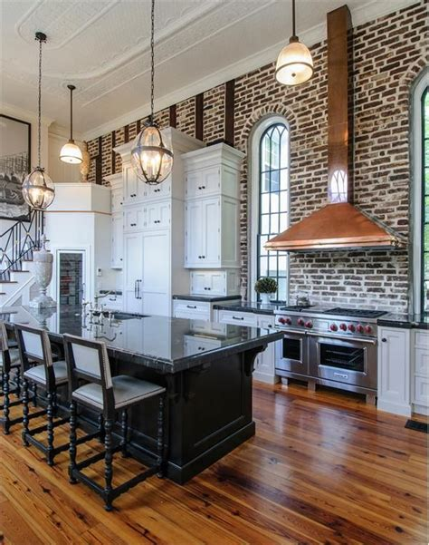 exposed brick kitchen exposed brick kitchen pinterest