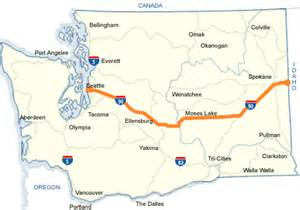 us map of interstate 90 wsdot i 90 map