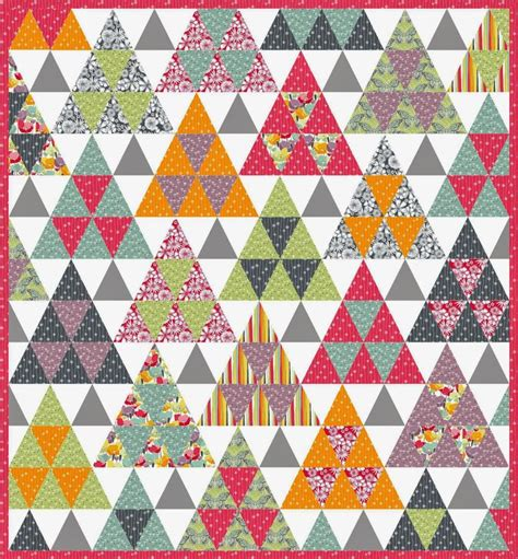 free pattern triangle quilt 1000 images about pyramid quilt pattern and variations on