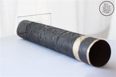 Paper Telescope Craft - diy telescope from paper towel roll crafts