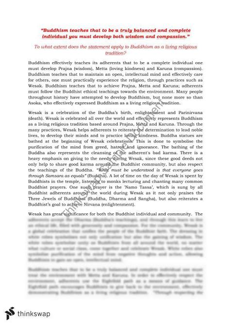 Buddhism Essay by Essay On Buddhism Docoments Ojazlink