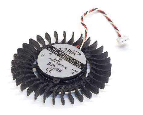 adda dc brushless fan 12v adda ad6512hb tb3 dc brushless vga graphics card fan