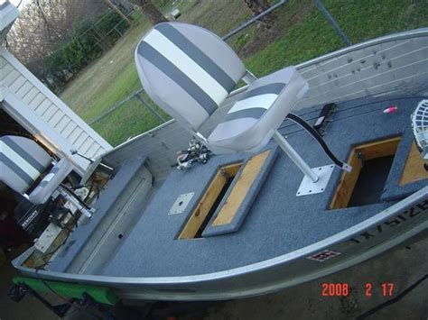 aluminum bass boat hull design floor plans for a 16 ft v hull jon boat google search
