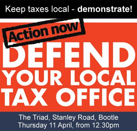 Local Tax Office defend your local tax office demonstrate pcs bootle