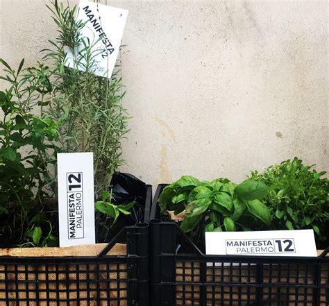 giardino aromatico orto capovolto aspettandomanifesta12 un piccolo