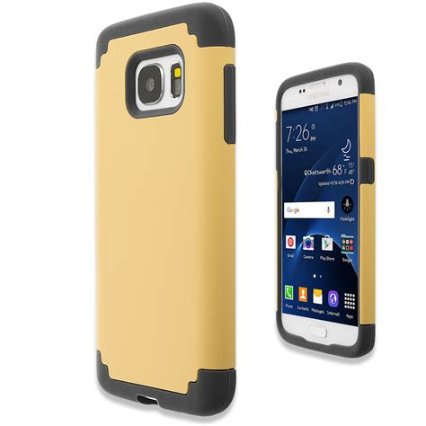 Samsung Galaxy S7 Soft Cover Casing Slim Line Murah gold black hybrid slim soft shockproof armor cover for samsung galaxy s7