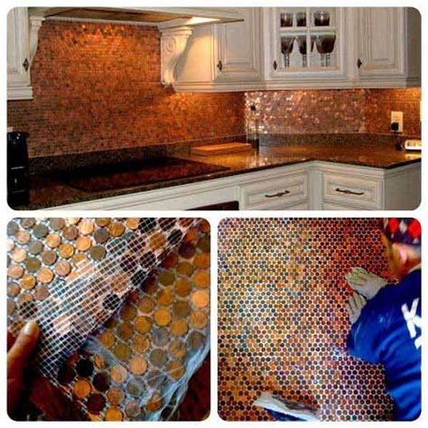 backsplash kitchen diy 15 diy ideas how to make a fancy low cost kitchen backsplash