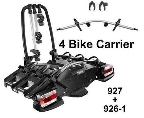 Towbar Bike Rack Fitting Thule 927 Velocompact 9241 Adapter 4 Bike Carrier