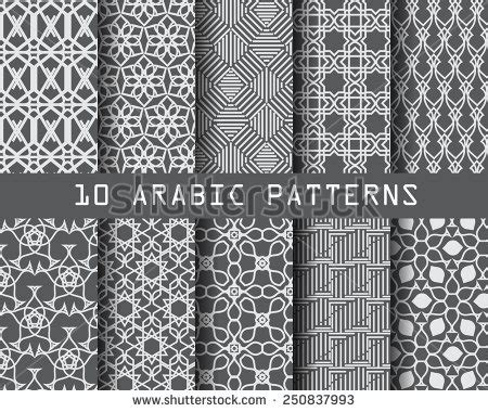 arabic seamless pattern islamic motif stock photos images pictures shutterstock