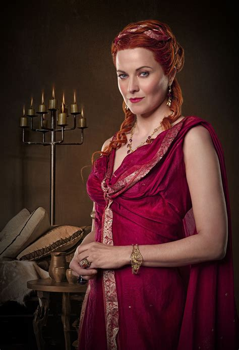 lucy lawless in spiderman spartacus blood and sand fotos promocionales spartacus