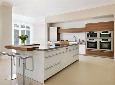 Small Kitchen Island With Stools - bulthaup b3 kitchen modern kitchen other metro by hobsons choice