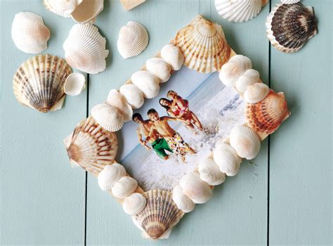 craft projects with seashells how to make a seashell picture frame search