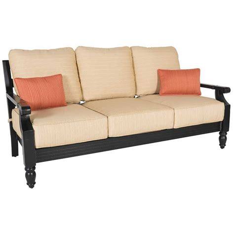 sofa patio ashville patio sofa ash sofa afw