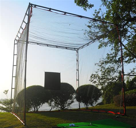target cage proadvanced mastercage golf practice cage with hitting target