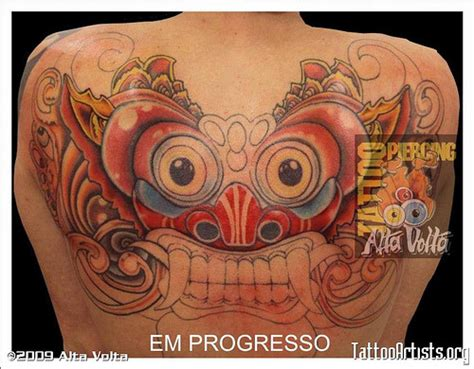 barong back tattoo back tattoo ideas for women barong tattoo picture