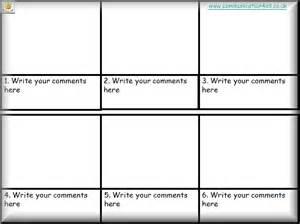 comic book presentation template story writing