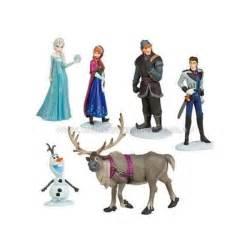 Frozen movie characters cake topper 6pc ali frozen