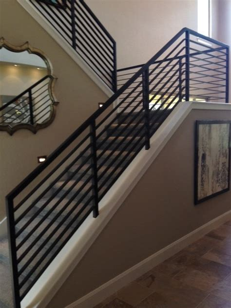 modern stair railing modern stair railings contemporary staircase other