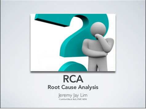 root cause analysis template powerpoint root cause analysis rca tools