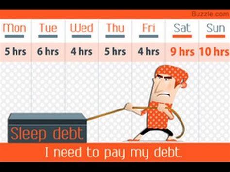 sleep debt sleep debt here s how to catch up on lost sleep youtube