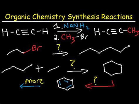 Organic Chemistry Retrosynthesis Practice Problems by Synthesis Reactions Doovi