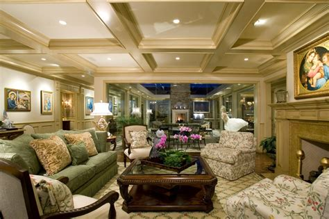Coffered Ceiling Vs Tray Luxury Living Rooms Design Ideas V Modern Building