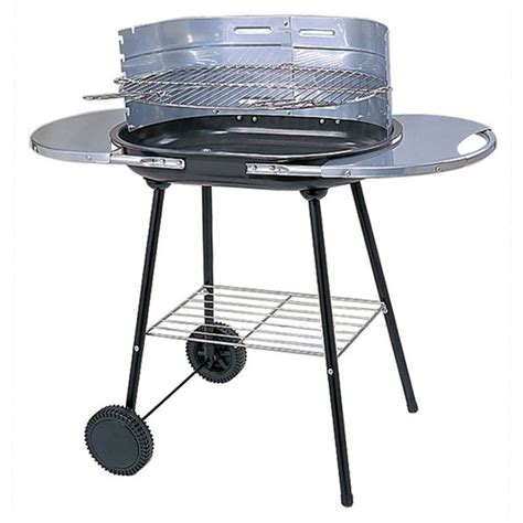 Bbq Trolley Set buy oval steel trolley charcoal bbq at argos co uk your shop for barbecues barbecues