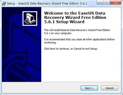 easeus data recovery wizard free edition 5 0 1 full version easeusへ ようこそ