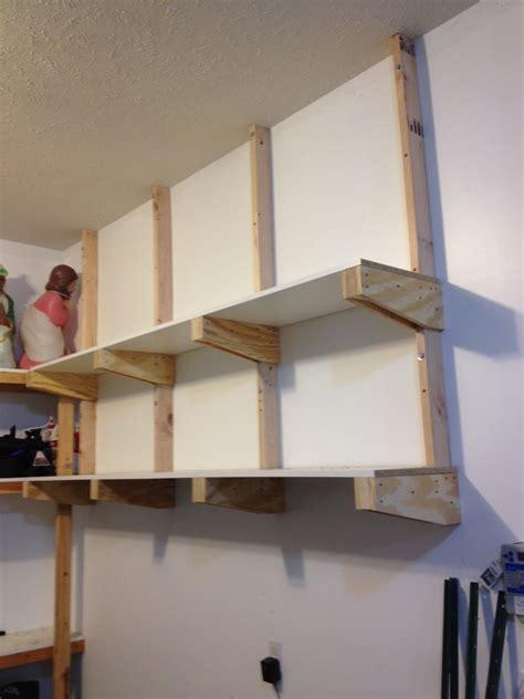 wood shelf designs garage