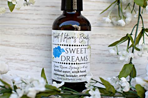 Sweet Dreams Pillow Spray by Sweet Dreams Linen Spray Room Spray Pillow