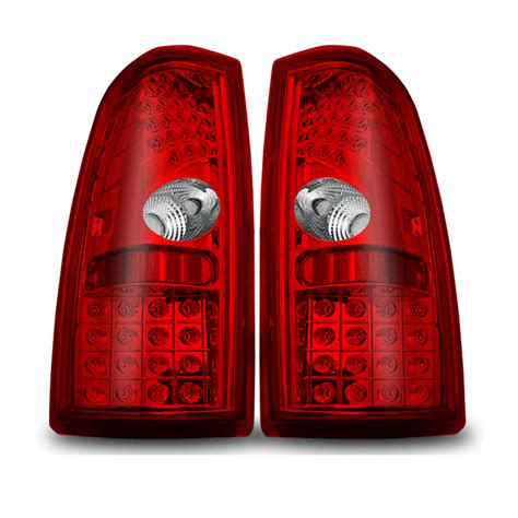 02 silverado tail lights winjet 99 02 chevy silverado performance led tail lights