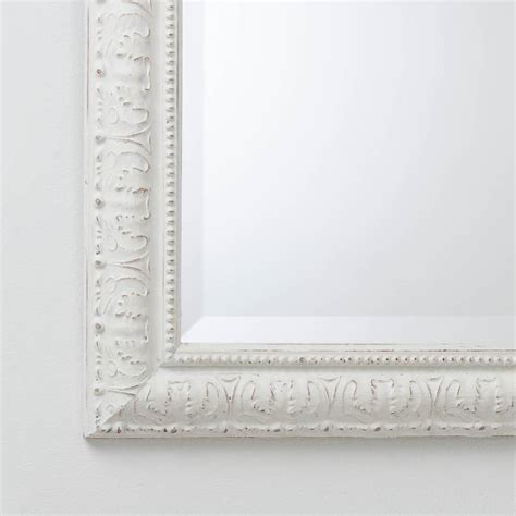 painted beaded white and mirror by crafted