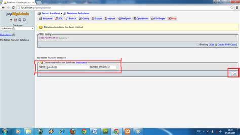 Tutorial Php Lengkap | tutorial lengkap membuat buku tamu sederhana dengan php