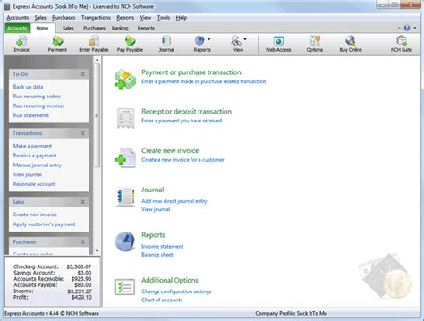 Accounting Software For Small Home Builders Express Accounts Accounting Software Shareware Express