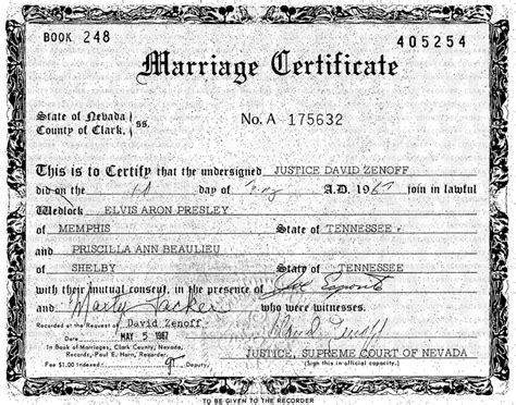 Las Vegas Marriage Record Wedding Information Las Vegas Weddings
