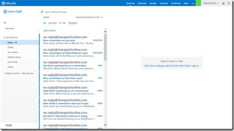 Office 365 Shared Mailbox Ciaops Working With Exchange Shared Mailboxes In Owa