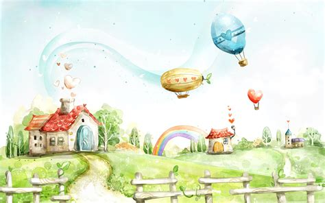 children s painting free for pc 梦幻风光 卡通童话壁纸 明星娱乐图40 电脑之家pchome net