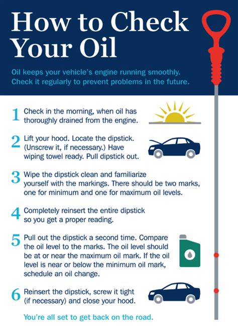 how to check your car s engine oil carponents