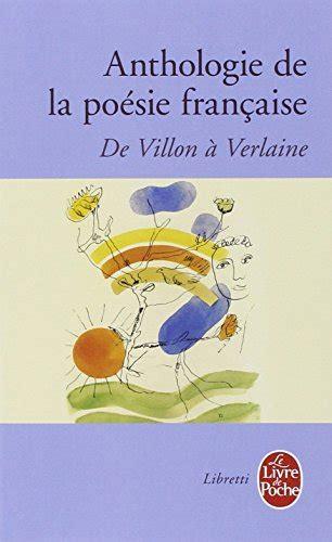 libro nouvelle anthologie de la po 233 sie fran 231 aise di jean joseph julaud