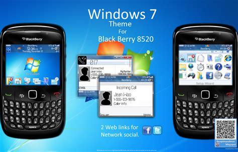 temas para blackberry tema windows 7 para blackberry 8520 taringa html