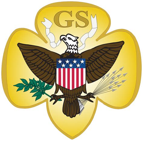 girls scouts of the usa girls scouts of northeast texas world file girl scouts of the usa 1912 1976 svg wikipedia
