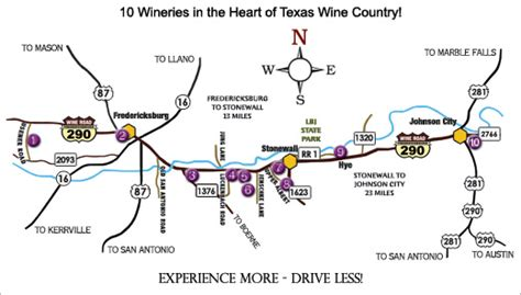 texas hill country winery map terry thompson vintage texas texas thru thru