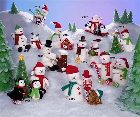 amazoncom snowman christmas complete set of hallmark snowmen 2003 2013 a atheist