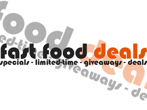 Tax Day Food Giveaways And Discounts - fast food deals giveaways limited time offers and specials