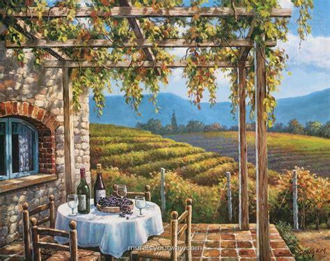 scenic wall murals vineyard scenic wall mural wallpaper mural ideas 12761