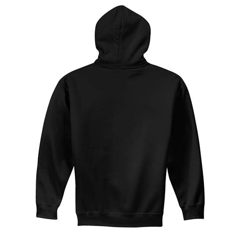 Sweatshirt Black gildan 18500 heavy blend hooded sweatshirt black fullsource
