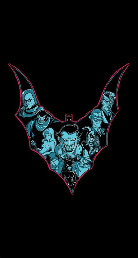 batman animated series  iphone wallpapers